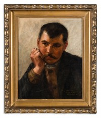 "Sándor Bihari: untitled (known as ""Portrait of a Man"")"