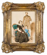 "Ágoston Canzi: untitled (known as ""Portrait of a Family"")"
