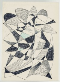Sándor Bortnyik: untitled (abstract sketch)